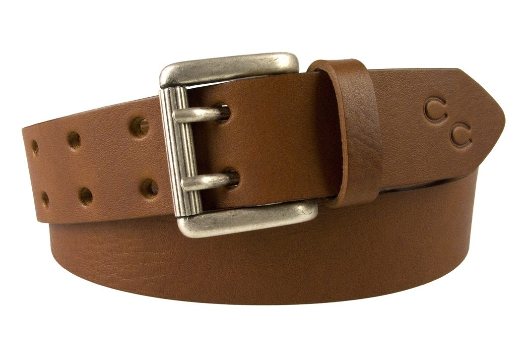 Womens Tan Leather Belt. High quality leather belt made in the UK by Champion Chase.